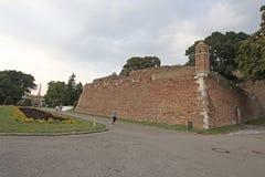 Forteresse de Kalemegdan, Belgrade, Serbie Photographie stock