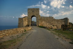 Forteresse de Kaliakra, Bulgarie Image stock
