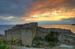 Forteresse de Kaliakra, Bulgarie Image libre de droits