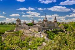 Forteresse de Kamenets Podolskaya image stock