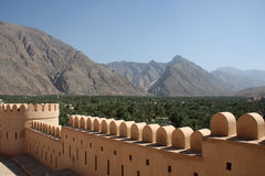 Forteresse de l'Oman photos stock