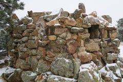 Forteresse de la pile des pierres Photographie stock libre de droits