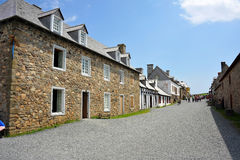 Forteresse de Louisbourg Photographie stock