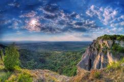 Forteresse de Madara, Bulgarie Photographie stock