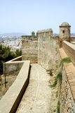 Forteresse de Malaga images stock