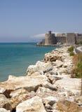 Forteresse de Mamure en Turquie Photo stock