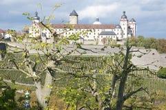 Forteresse de Marienberg à Wurtzbourg, Allemagne Photos libres de droits