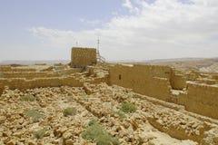 Forteresse de Masada Photos libres de droits