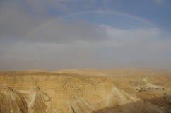 Forteresse de Masada image libre de droits