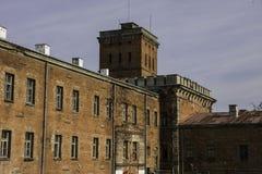 Forteresse de Modlin près de Varsovie photos libres de droits