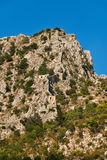 Forteresse de montagne Photos libres de droits