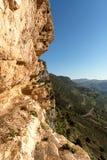Forteresse de montagne de Niha, montagnes de Shouf, Liban Image libre de droits