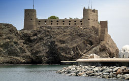 Forteresse de muscat Photos stock