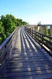 Forteresse de Neamt - Roumanie - accédez au pont Photos stock