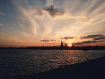 Forteresse de Peter et de Paul à St Petersburg Photo stock
