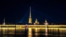 Forteresse de Peter-Pavel's Photos stock