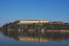 Forteresse de Petrovaradin à Novi Sad - en Serbie - voyage d'architecture photo stock