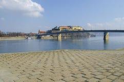Forteresse de Petrovaradin à Novi Sad, Serbie image libre de droits