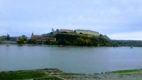 Forteresse de Petrovaradin, ville de Novi Sad photo stock