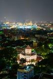 Forteresse de Phra Sumen en parc de Santichai Prakan Image stock