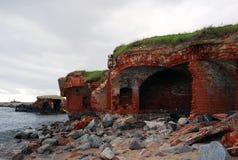 Forteresse de Pillau dans Baltiysk, Russie Photographie stock libre de droits
