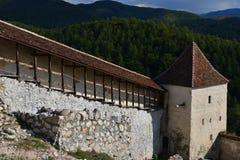 Forteresse de Rasnov, Roumanie photo stock