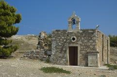 Forteresse de Rethymno sur Crète Photographie stock libre de droits