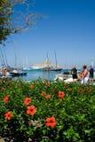 Forteresse de Rhodes, Saint-Nicolas photo libre de droits