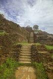 Forteresse de roche de Sigirya, Sri Lanka Photos libres de droits