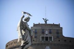 Forteresse de Rome Images stock
