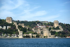 Forteresse de Rumeli Hisari (Istanbul, Turquie) Photographie stock libre de droits