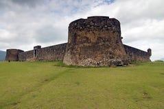Forteresse de San Felipe, préposé du service dominicain. Photos libres de droits