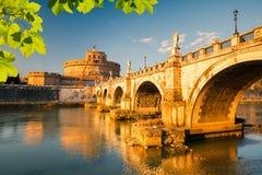 Forteresse de Sant'Angelo, Rome Images libres de droits
