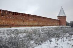 Forteresse de Smolensk Images stock
