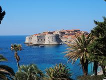 Forteresse de St John Dubrovnik Croatia photographie stock