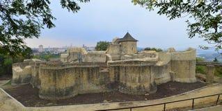 Forteresse de Suceava Images stock
