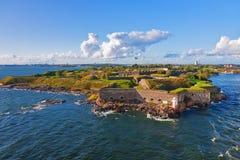 Forteresse de Suomenlinna à Helsinki, Finlande image libre de droits
