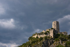 Forteresse de tour de Pocitelj Images stock