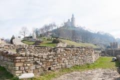 Forteresse de Tsarevets, Veliko Tarnovo, Bulgarie Photo libre de droits