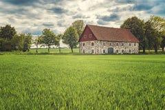 Forteresse de Varberg en Suède Photo libre de droits