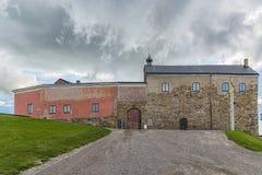 Forteresse de Varberg en Suède Image stock
