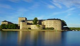 Forteresse de Vaxholm, Suède Image stock
