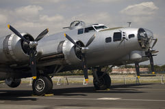 Forteresse du vol B-17 Image stock