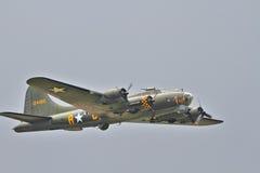 Forteresse du vol B-17 Images libres de droits