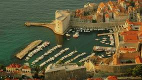 Forteresse Dubrovnik de St John clips vidéos