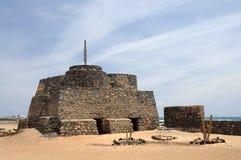 Forteresse en Caleta de Fuste, Fuerteventura photos libres de droits
