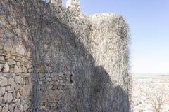 forteresse et château de Consuegra à Toledo, Espagne Fort médiéval Images stock