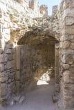 forteresse et château de Consuegra à Toledo, Espagne Fort médiéval Photo libre de droits