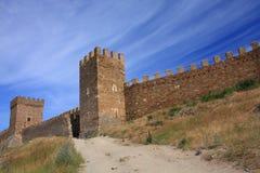 forteresse genoese Photographie stock libre de droits