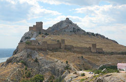 Forteresse Genoese Images stock